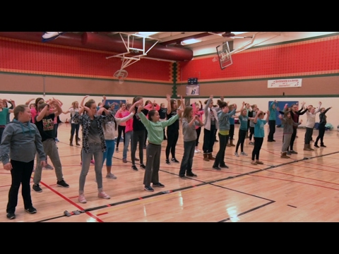 Golden Apple: Bemidji Middle School Pizazz Girls Make Dreams Come Alive