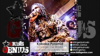 Kabaka Pyramid - Change This World [Sounds Of The Heart Riddim] February 2015