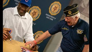 Cubs reliever Lee Smith recalls American Legion Baseball days