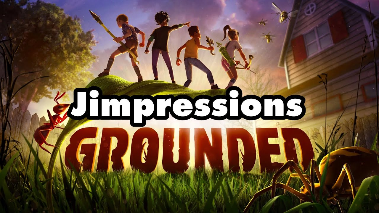 Grounded - The Spiders From Arse (Jimpressions)