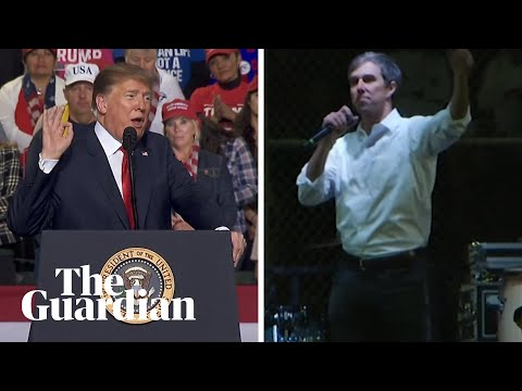 Donald Trump v Beto O'Rourke: rival rallies on US border security Mp3