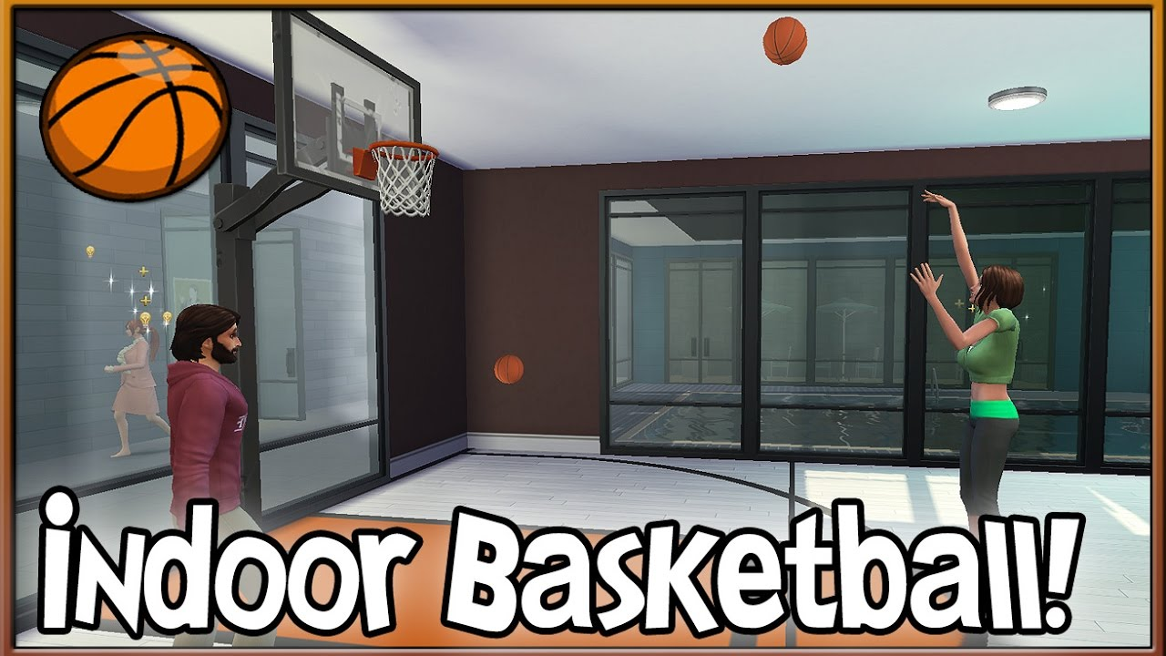 Indoor Basketball Court! 🏀 | What I\'ve Done (Windenburg) - The Sims ...