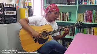 Gambar cover HARAPIN ANG MUNDO - Pammie Malayon (Silek Band)