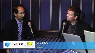 Mike Olson, CEO of Cloudera - Hadoop World 2011 - theCUBE