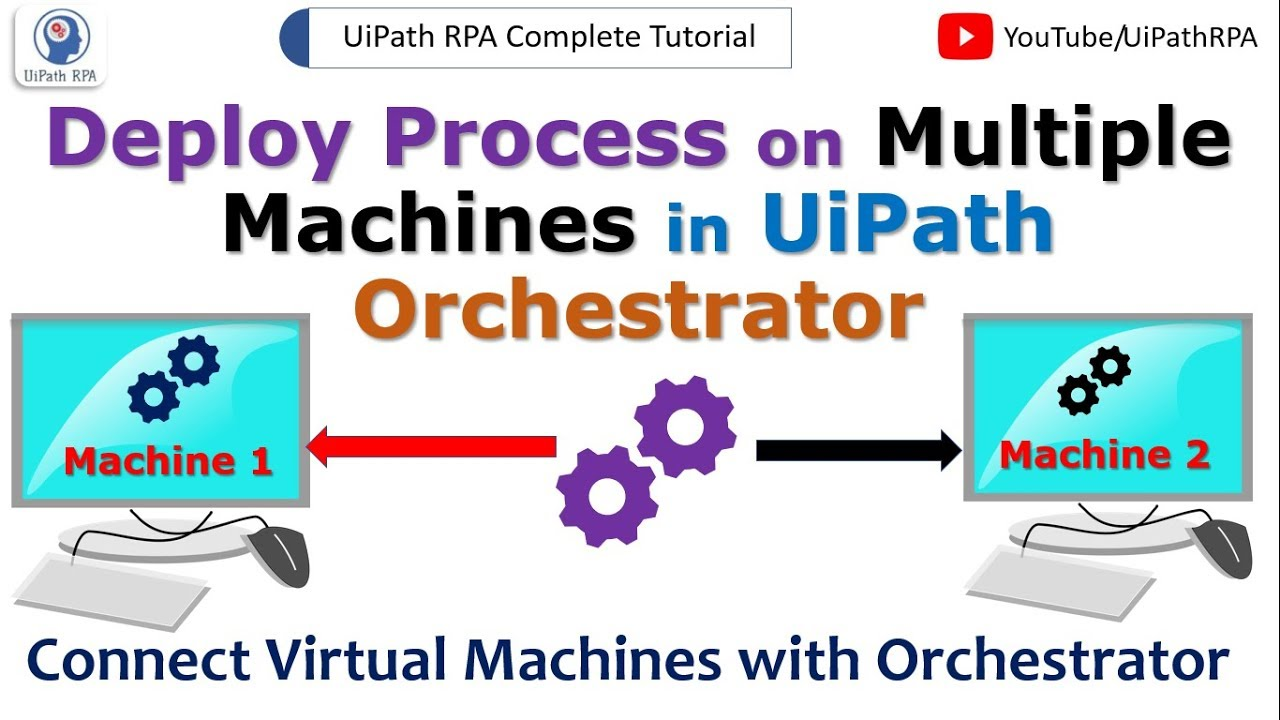 Deploy Process on Multiple Machines in UiPath Orchestrator|UiPath Tutorial  for Beginners| UiPathRPA