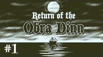Let's Play Return of the Obra Dinn #1: Die Ankunft (Livestream / deutsch)