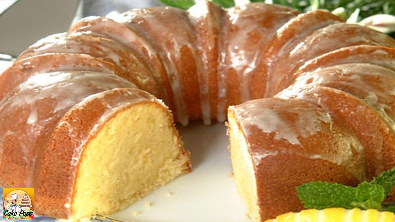 Zesty Lemon Pound Cake Youtube