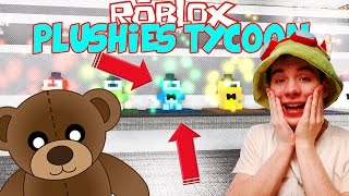THE FACTORY OF PLUSZAKÓW! I HAVE MY EMPLOYEES! | Plushies-Tycoon | ROBLOX #106