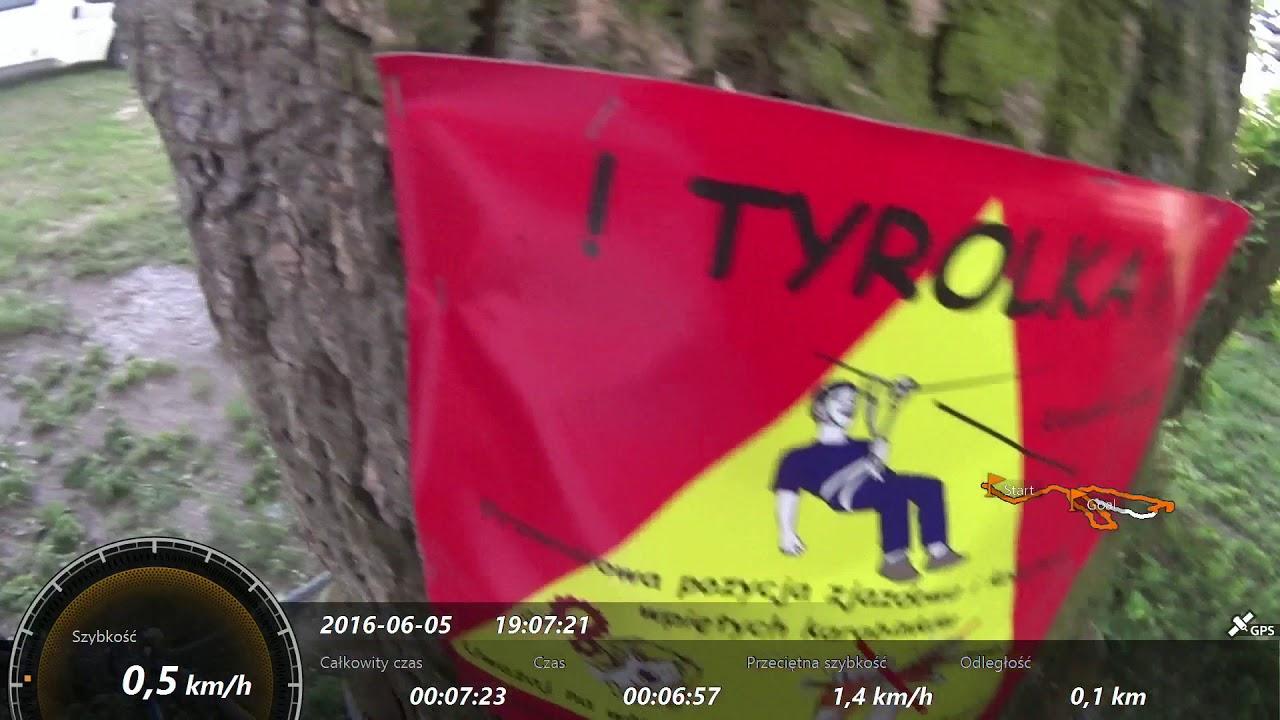 Park Linowy 42 Gibon Przasnysz Trasa Pomarańczowa 05062016