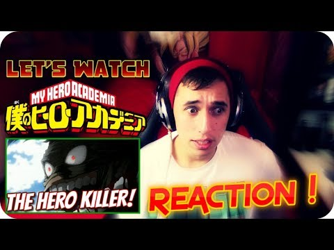 THE HERO KILLER!!  LET'S WATCH My Hero Academia *SEASON 2* Episode 11 REACTION!!