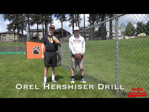 Senior Project Orel Hershiser Drill