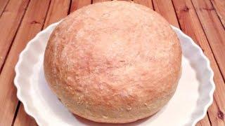 Воздушный белый хлеб в духовке! Рецепт!