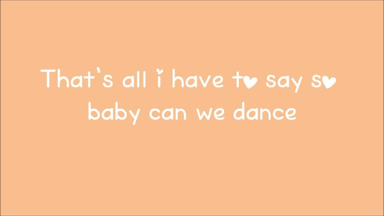 Can We Dance - The Vamps lyrics - YouTube