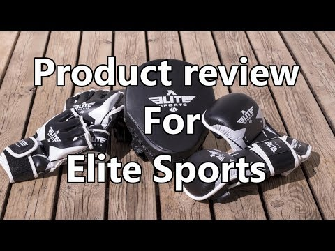 Product Review for Elite Sports, Punching Mitts, and Grappling Gloves