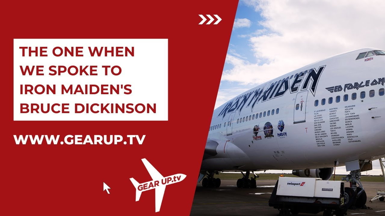 Iron Maiden Inside Ed Force 1 Bruce Dickinson Takes
