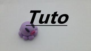 Tuto Fimo - Pieuvre Kawaii