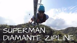 Diamante Eco Adventure Park - Superman Cable (Longest ocean view) 360 video
