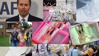 بالفيديو.. مخدرات بقيمة مليار دولار داخل حمالات صدر