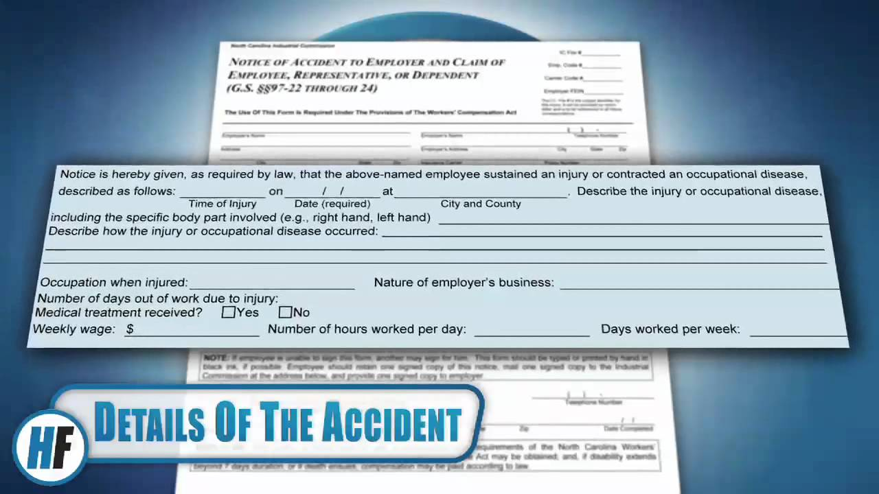 Form 18 - North Carolina Workers' Compensation Forms, HensonFuerst ...