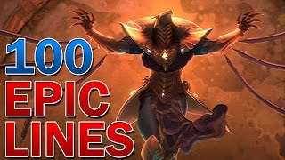 100 Epic Lines from League of Legends