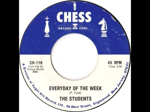 The Students - Everyday Of The Week 1958 Doo Wop Gold