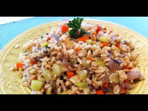 Comidas vegetarianas faciles arroz frito de tom youtube - Comida vegetariana facil de preparar ...