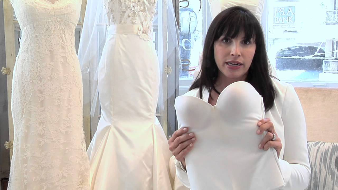 85ce41095cf What Kind of Bra Do You Wear to a Bridal Fitting    Wedding Dresses -  YouTube