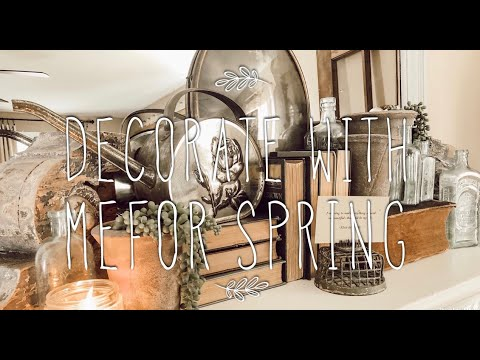 Let's Start Decorating For Spring | Decorate With Me!