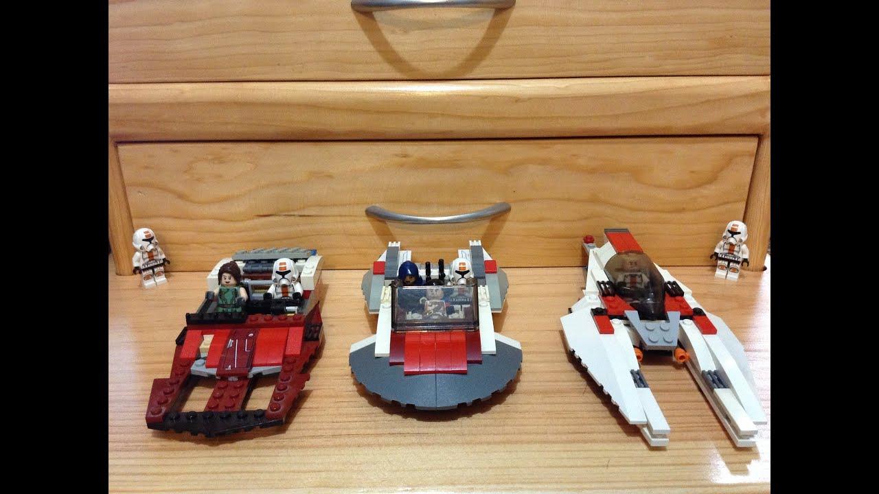 Vehiculos De Star Wars De Lego Star Wars Costum Lego