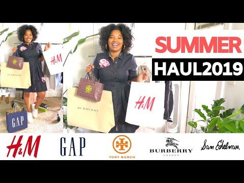 mid-summer-haul-2019-|-h&m,-gap,-tory-burch,-burberry,-sam-edelman
