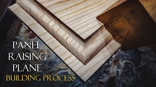 025 Panel raising plane - building process / woodworking