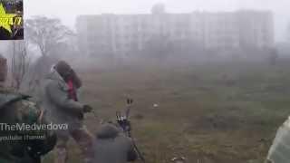 Новости 18 01 2015 Украина Азов стрельбы из пулемета