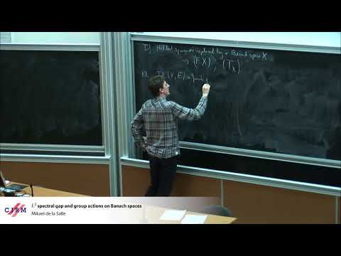 Mikael de la Salle: L2 spectral gap and group actions on Banach spaces