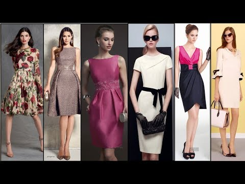 ПЛАТЬЯ 2018/2019 💜  Тенденции Моды ФОТО💜