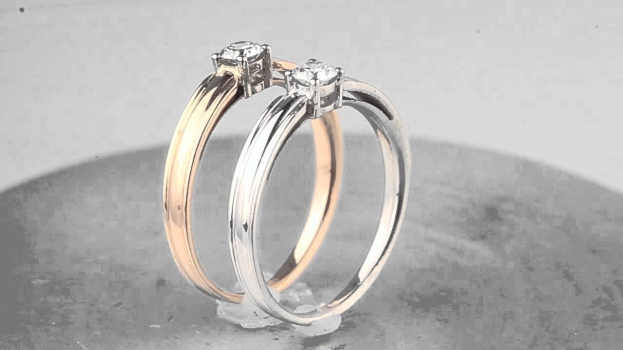 кольцо с бриллиантом 0 5 карат