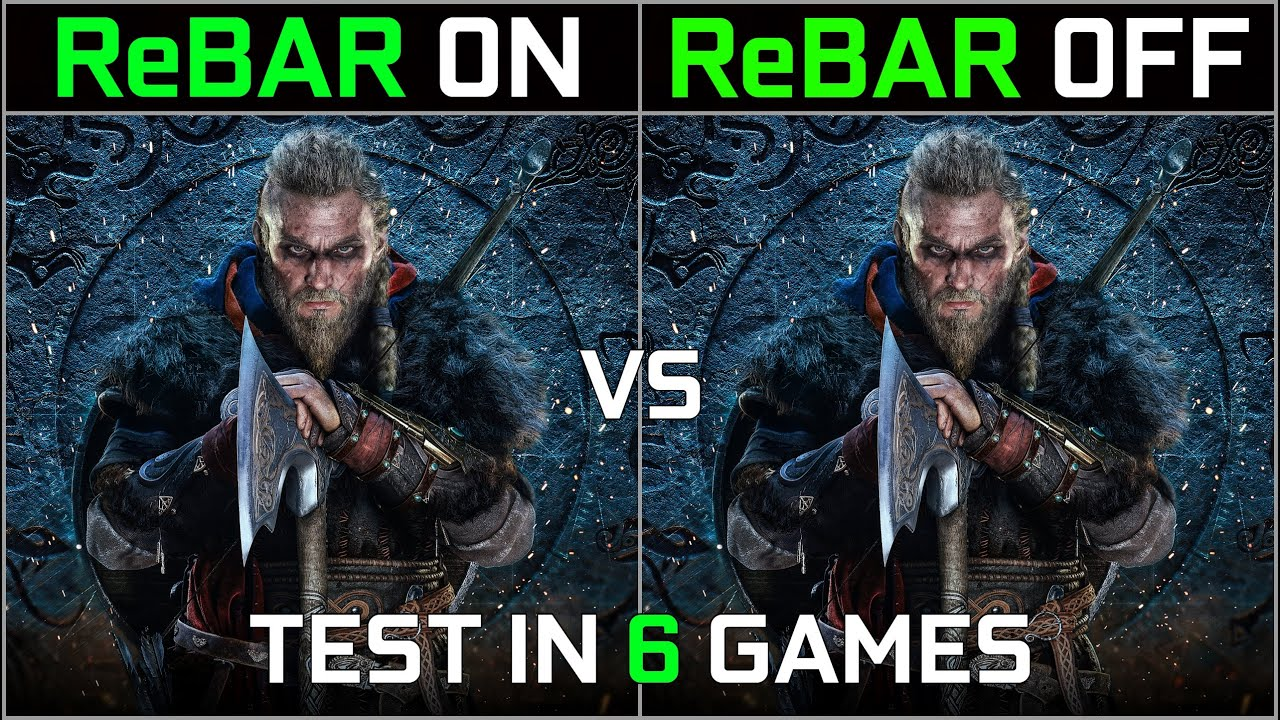 Download Nvidia Resizable BAR ON vs OFF | RTX 3060 | Test in 6 Supported Games