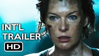 Resident Evil: The Final Chapter Official International Trailer #4 (2017) Milla Jovovich Movie HD