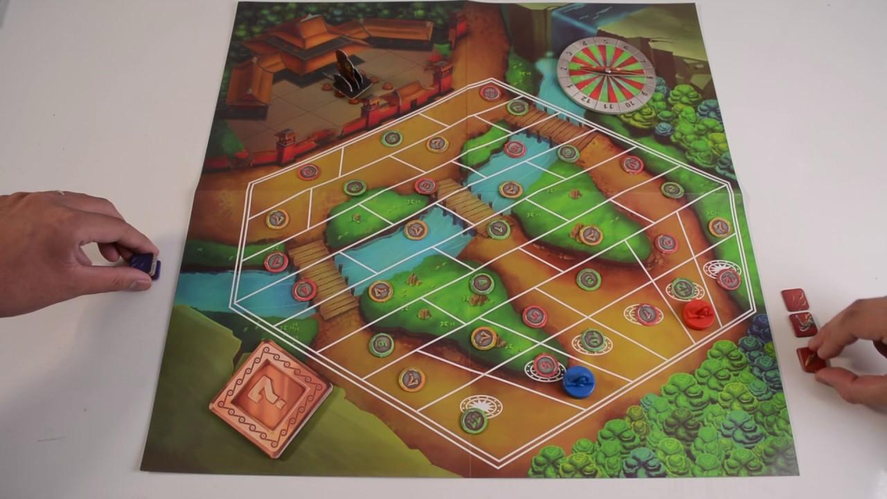 Hướng dẫn chơi Boardgame Hai Bà Trưng.