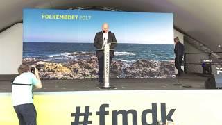 Folkemøde 2017 - Søren Pape Poulsens partiledertale