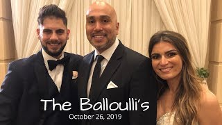 Gig Log - The Balloulli Wedding!
