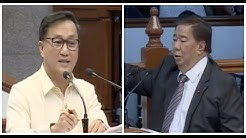 Tolentino gets first grilling at the Senate