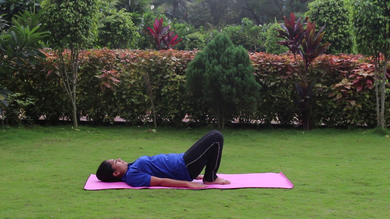 Back pain relief exercises for women in hindi