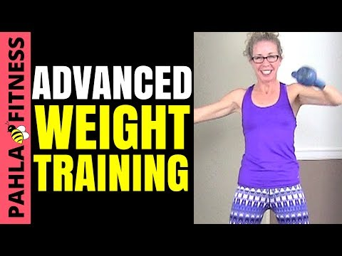40 Minute Advanced WEIGHT TRAINING Routine | Full Body CARDIO, STRENGTH + CORE Kettlebell Workout