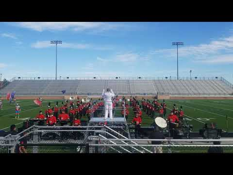 """Mineral Wells High School 2018 UIL Marching Band Show """"Rainforest"""""""