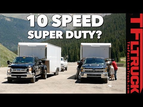 Is Ford Testing a 10-Speed in the New Super Duty?