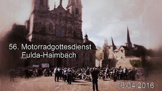 56. Motorradgottesdienst Fulda-Haimbach am 16.04.2016