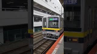 180909 145909東武20400系入線シーン(スマホで撮影)