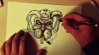 INKTOBER - 6 of 31 - Dutch Bunny (Unlimited Visual)