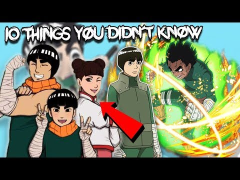 10 Things You Didn't Know About Rock Lee - Boruto & Naruto