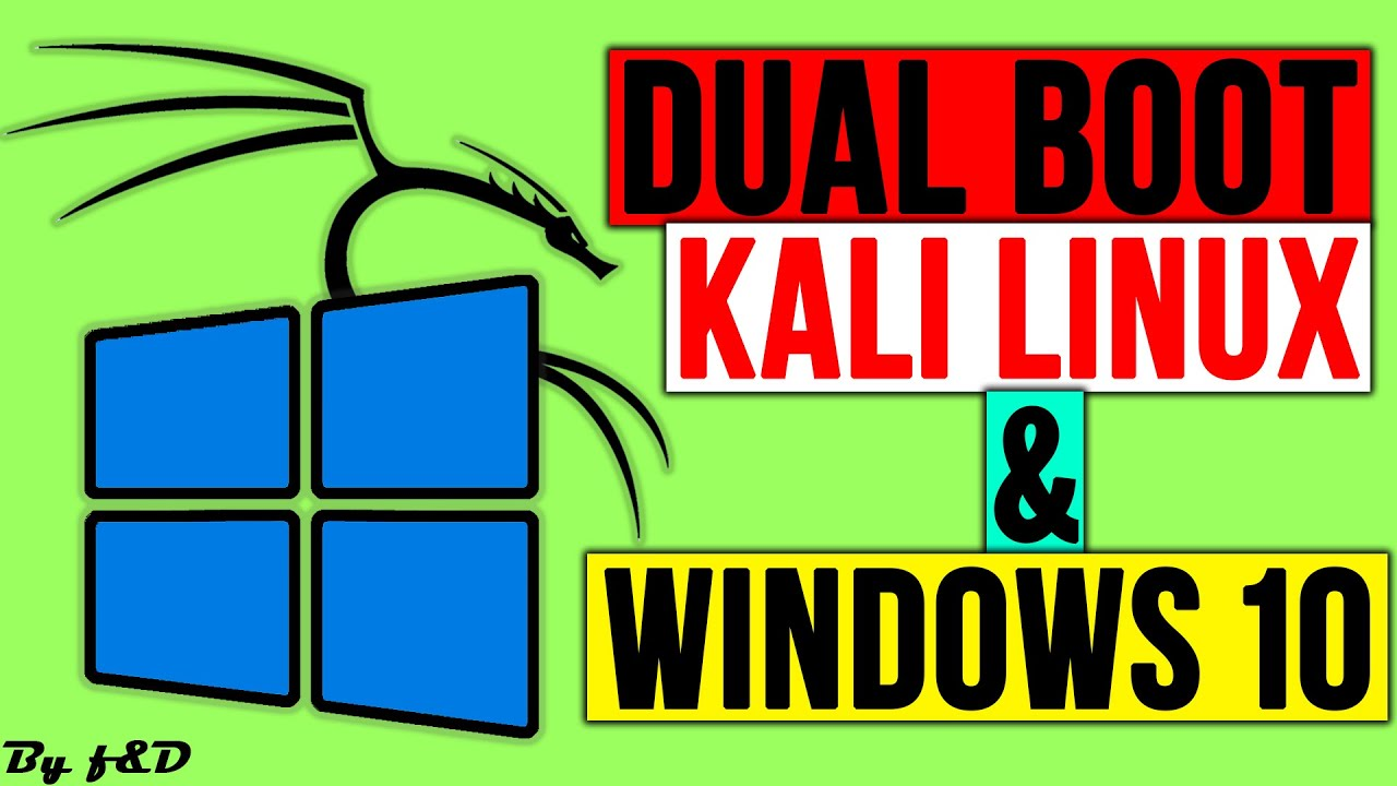 Dual Boot Kali Linux and Windows 10 [NO ERRORS] | Kali Linux install windows 10